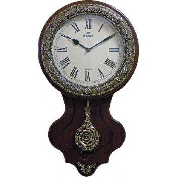 Настенные часы gastar c011a (дерево)