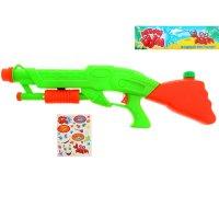 Пистолет водный винтовка, с эксклюзивными наклейками, цвета микс