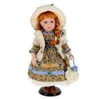 Кукла коллекционная дашенька с сумочкой