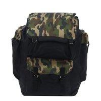 Рюкзак туристический, 1 отдела на клапане, 4 нар кармана, камуфляж