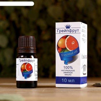 Эфирное масло грейпфрут, флакон-капельница, аннотация, 10 мл