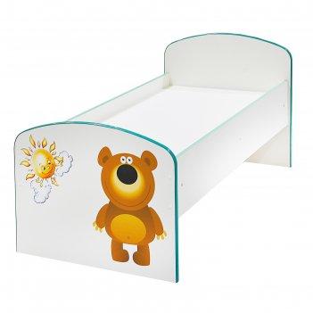 Детская кровать медведь и солнце