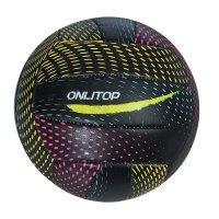 Мяч волейбольный onlitop v5-20 р.5 18 панелей, pvc, 2 под. слоя, машин. сш