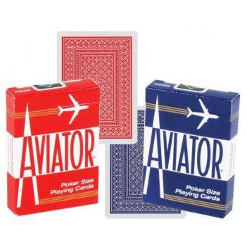 Карты aviator standard index red/blue