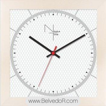Настенные часы nicole time nt667w