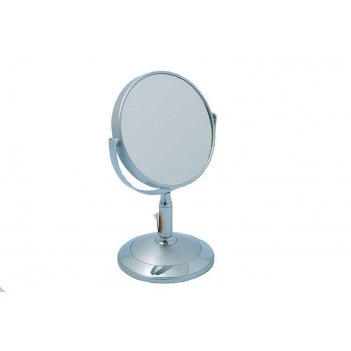 Зеркало* b4902 s3/c silver настольное 2-стор. 3-кр.ув. 12,5