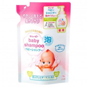 Детский шампунь-пенка без слёз для волос с первых дней жизни с ароматом де