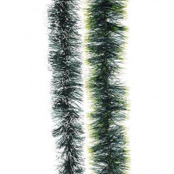 Мишура, 5 сложений (зеленая), 6x270 cм, 2 в.