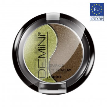 Тени для век demini sparkle eye shadow с витамином е, тон 16