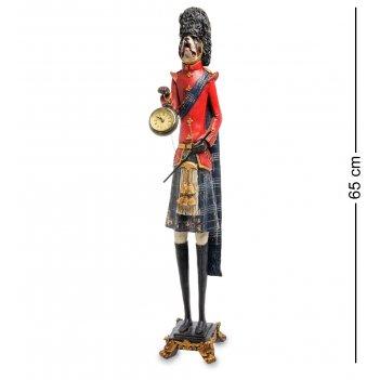 Ns-181 статуэтка с часами собака уолш