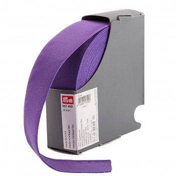Эластичная лента-пояс 38мм*10м, цвет лиловый