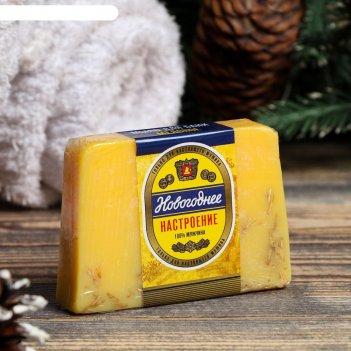 Мыло для бани и сауны новогоднее медовое, 100 г