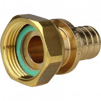 Переходник аксиальный stout sfa-0019-002034, с накидной гайкой 20x3/4 нару