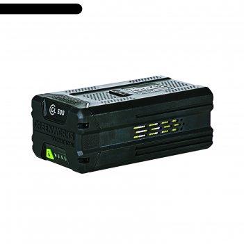 Аккумулятор greenworks g82b2 2914607, 82в, 5ач, индикатор заряда