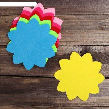 Основа для творчества и декорирования цветочек, набор 2 шт, цвета микс   4