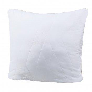 Подушка лебяжий пух, размер 70х70 см, тик
