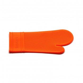 Прихватка-варежка atlantis, оранжевая, 35 см