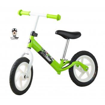 Беговел для ребенка - small rider friends (зеленая рама белые колеса)