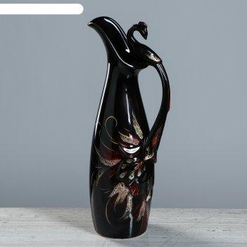 Кувшин жар-птица черный 3 л