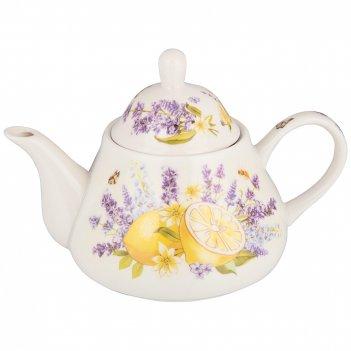 Чайник lefard прованс лимоны 350мл (кор=24шт.)