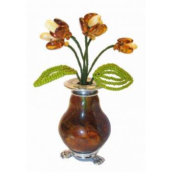 вазочки из янтаря