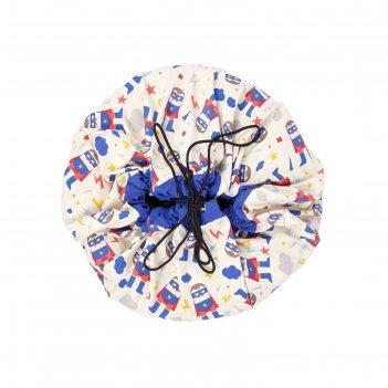 Игровой коврик - мешок для хранения игрушек 2 в 1 play&go, коллекция desig