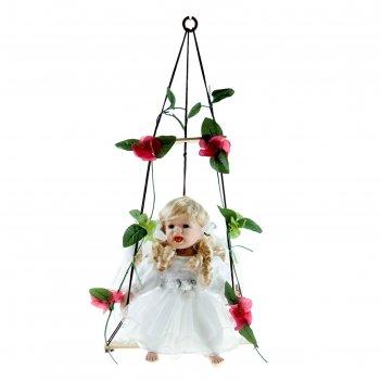 Кукла коллекционная маленькая софия на качели
