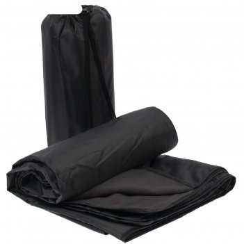 Плед для пикника kveld, размер 130x140 см, цвет серый