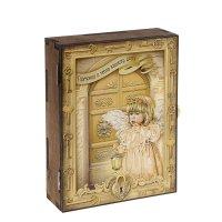 Ключница-шкатулка ангел гармонии и тепла
