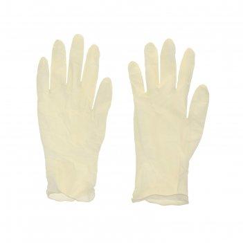 Перчатки хозяйственные с напылением, 10 шт размер s