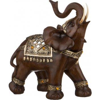 Фигурка слон 30*17*32 см. серия махараджи (кор=4шт.)