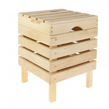 Ящик для белья табурет 2   40х52х40 см