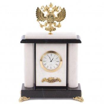 Часы герб мрамор 165х75х250 1850 гр.