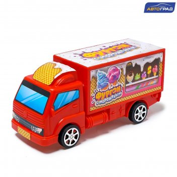 Грузовик инерционный «фургон с мороженым»