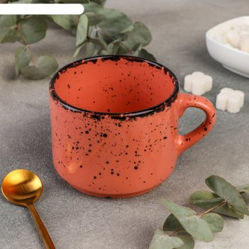 Чашка чайная 9,5 см, h 7,5 см, 350 мл topazio