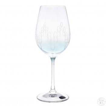 Набор бокалов для вина crystalex bohemia арлекино 350мл (6 шт)
