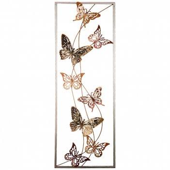 Панно настенное коллекция бабочки 31,1*89,5*4,4 см (кор=4шт.)