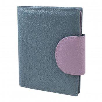Портмоне, цвет голубой, серия mumi, арт.364-23