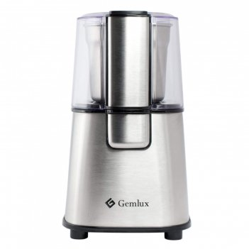 Кофемолка gemlux gl-cg888, разовая загрузка до 60 г, полуавтоматическая