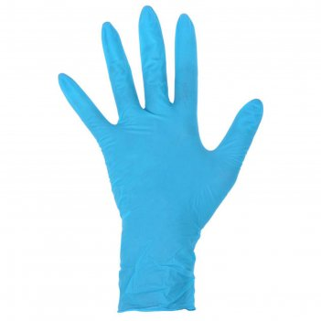 Перчатки латексные неопудренные m 50 шт/уп dermagrip high risk