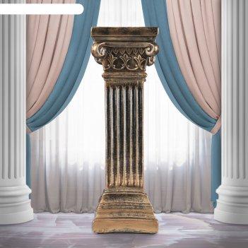 Статуэтка колонна бронза