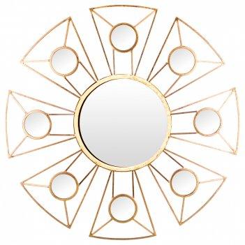 Зеркало настенное 76*4*76 см. диаметр=30 см (кор=1шт.)