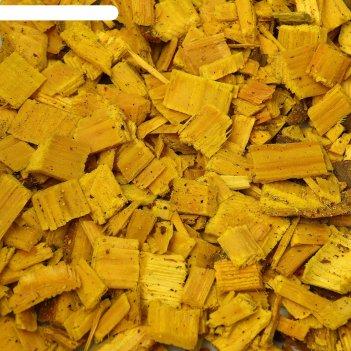 Щепа декоративная 60 л. лимонный