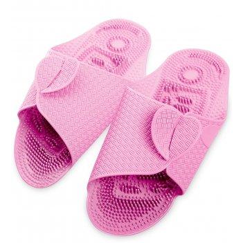 Msg-03/01-l массажные тапочки розовые, длина 27см