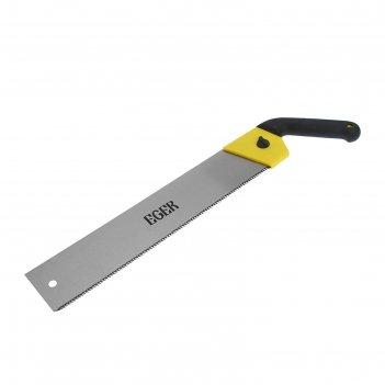 Японская ножовка eger, 400мм, 9tpi, зуб 3d, толщина полотна 0.9мм, обрезин