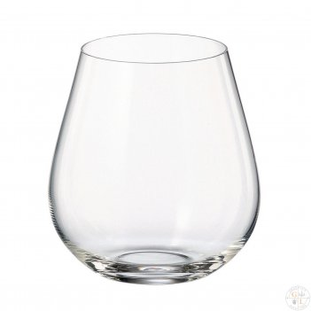 Набор стаканов для воды crystalite bohemia columba 380 мл (6 шт)