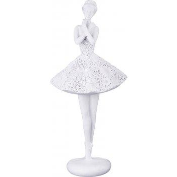 Фигурка балерина 15,5*11,5*33,5 см. серия камила (кор=6шт.)