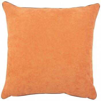 Подушка декоративная лаунж 45х45см,100% п/э,терракотовый