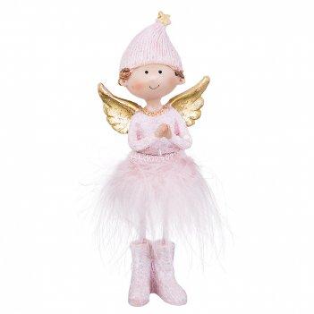 Фигурка ангелочек 5,5*4*14 см (кор=48шт.)