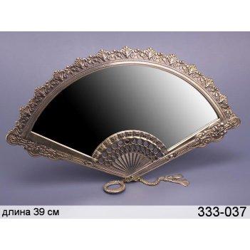 Зеркало веер 22*39 см.